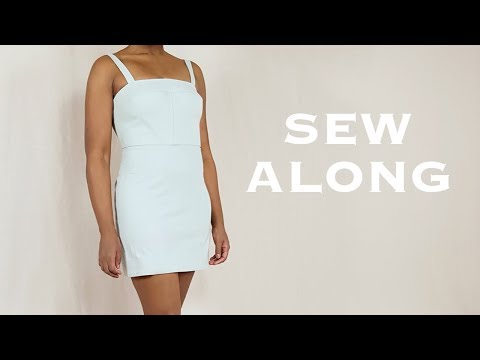 DIY 2-in-1 (Part 1):  Mini Dress (Sew Along)