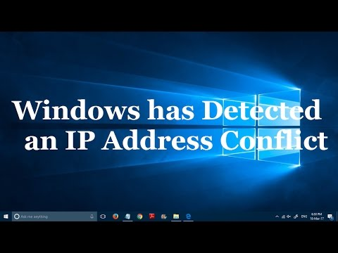 How to fix Windows has detected an IP Address conflict [3 simple steps]