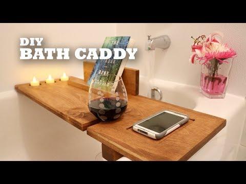 DIY Bath Caddy