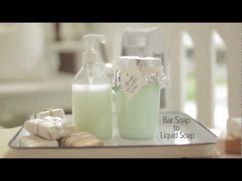 Bar Soap to Liquid Soap