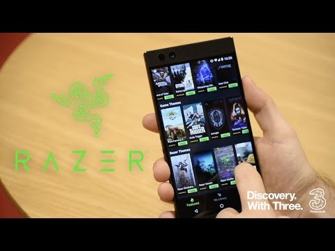 Razer only on Three   Get the most   Discovery with Three