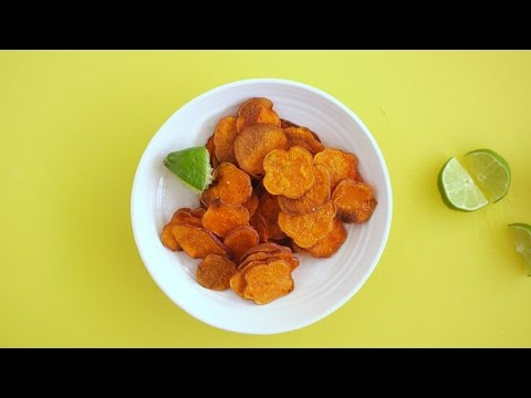 Simple Oven-Baked Sweet Potato Chips - Martha Stewart