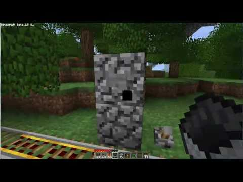 Minecraft 1.5 - Rail Road Tutorial