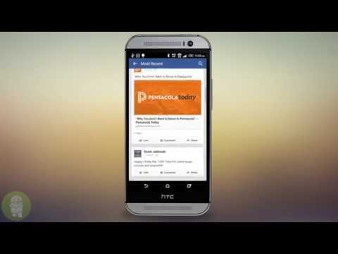 Turn off those annoying sounds in Facebook for Android