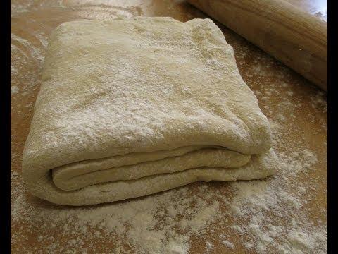 Cách làm bột bánh ngàn lớp Puff Pastry