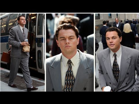 Leonardo DiCaprio Hits The Wolf of Wall Street Set — Clean Cut and New Hair!
