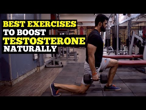 4 Easy Exercises To Boost Testosterone Naturally