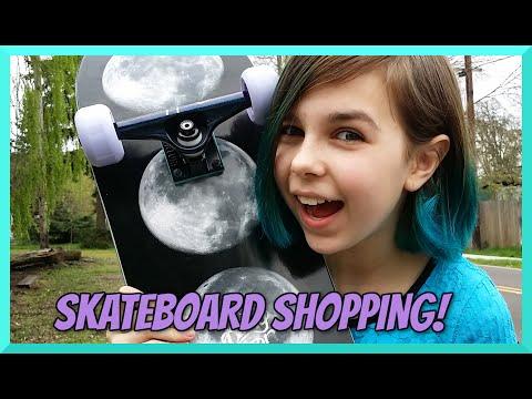 Shopping For A New Skateboard At Tactics - Custom Build