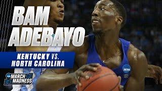 Kentucky vs. North Carolina: Bam Adebayo puts up 13 points