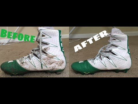 How To Clean Your Cleats (All Sports)