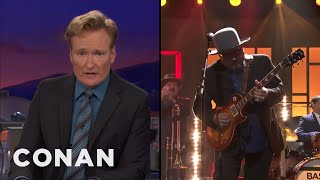 Conan Pays Tribute To Jimmy Vivino & The Basic Cable Band  - CONAN on TBS