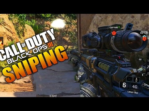 Black Ops 3 Sniping Gameplay