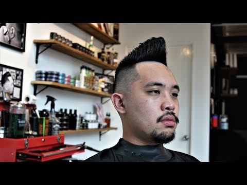 Vinsen The Barber - Psychobilly Quiff Haircut