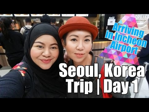 Seoul, Korea Trip | Day 1 Arriving in Incheon Airport, Airbnb Apartment