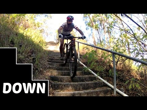 How to Ride Down Stairs on a Mountain Bike: The 4 Key Tips