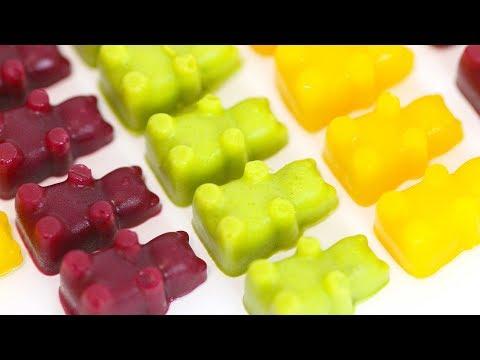 How to Make VEGAN Gummy Bears | Gelatin-Free Gummy Bears | RECIPE