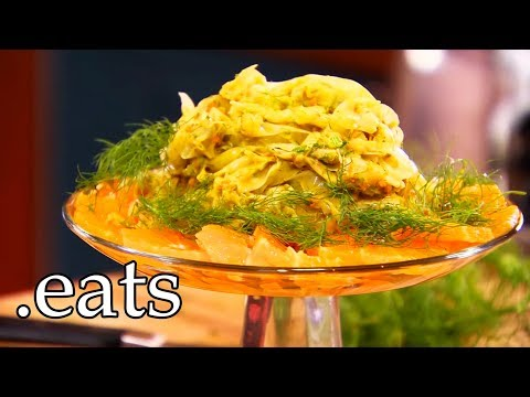 Fennel Salad with Orange Curry Dressing | Chef Michael Smith
