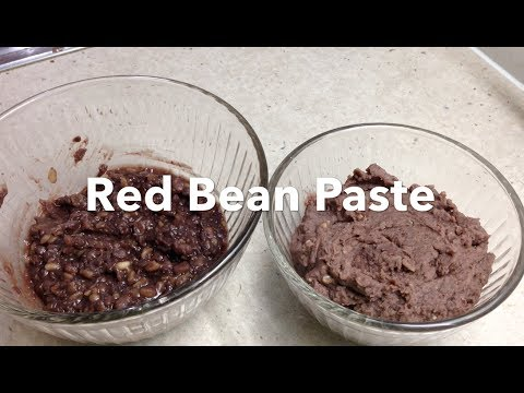 Sweet Red Bean Paste Anko Ogura Thermo cheekyricho tutorial
