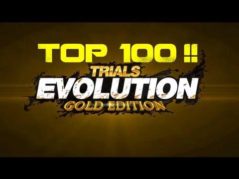 top 100 mondiale sur Trials evolution gold edition!!