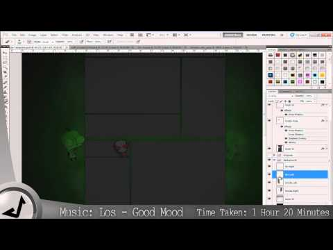 KingDarkness YouTube Background - Speed Art