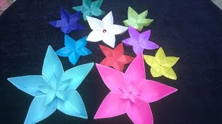 How To Make A Paper Flower Origami Flowers