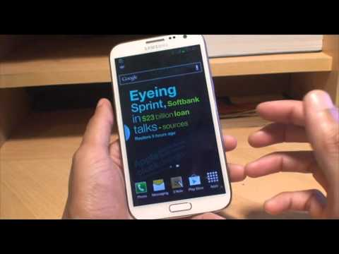 Samsung Galaxy Note 2: Set your Own Music (MP3) as Custom Notification Ringtone