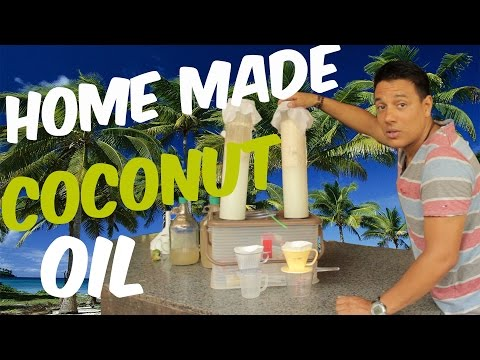 How to make your own easy virgin coconut oil by fermentation (tutorial) - VLOG #010