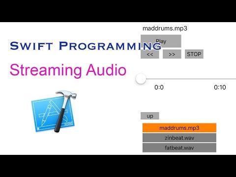 Streaming Audio - Xcode Swift 3