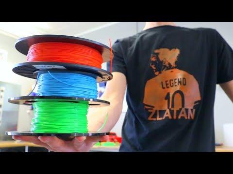 Flexible 3D Printing on Fabric - Best Flex Filament