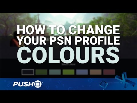 How to Change Your PSN Profile Colour on PS4 | Firmware Update 4.50 | PlayStation 4 Guides