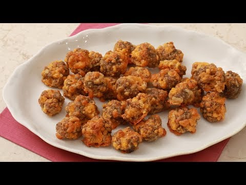 Sausage Cheddar Balls- Martha Stewart