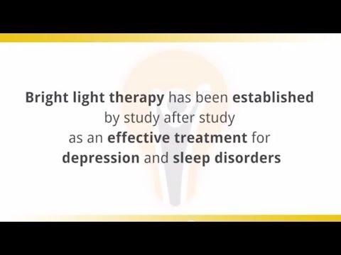 Drug Free Alternative for Depression -- Light Therapy Tip