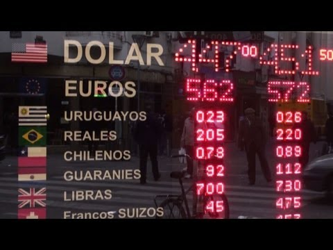 Peso-dollar: Argentine government restricts currency exchange