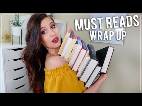 MUST READ BOOKS - Reading Wrap Up 3