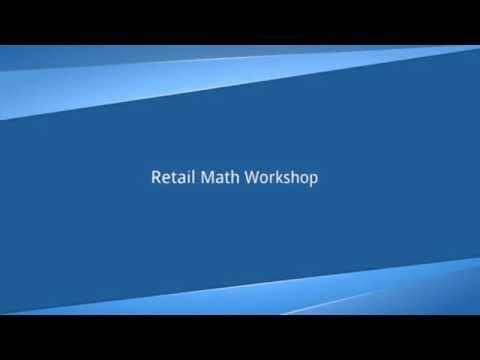 Retail Math Workshop