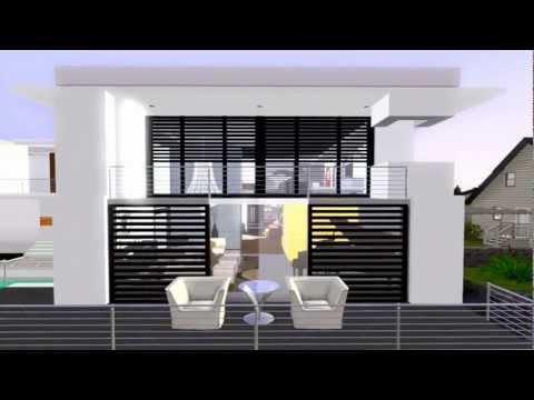 The Sims 3 Modern House California Costal