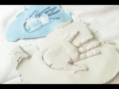 How to make a Plaster Hand Print | Fatema's Art Show