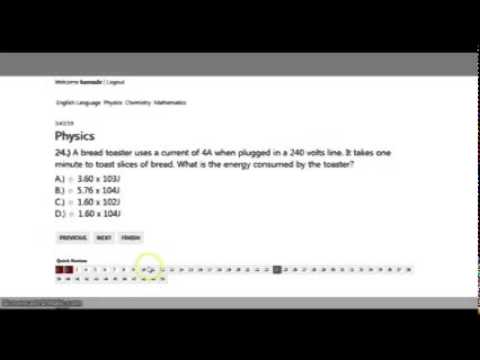 Computer Based Test (CBT) video 1