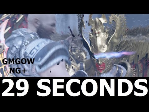 God Of War - Valkyrie Queen Sigrun - 29 SECONDS KILL [GIVE ME GOD OF WAR, NEW GAME PLUS]