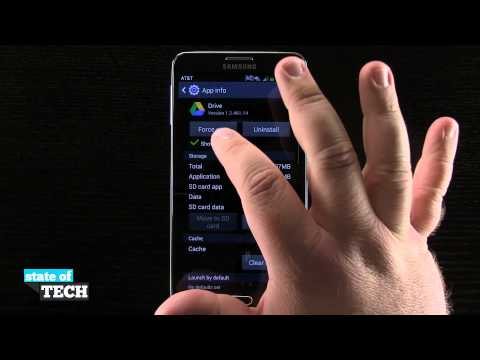 Samsung Galaxy Note 3 Tips - Application Manager