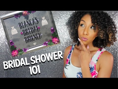 BRIDAL SHOWER 101! Everything You Need To Know!| BiancaReneeToday