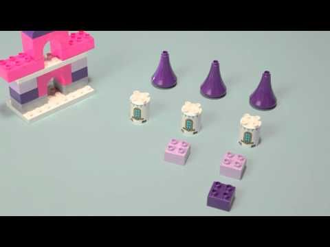 How to Build your own Castle - LEGO DUPLO - DIY