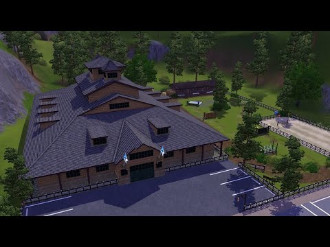 THE SIMS 3 LET'S RENOVATE SUNSET VALLEY | Horse Ranch and Equestrian Centre