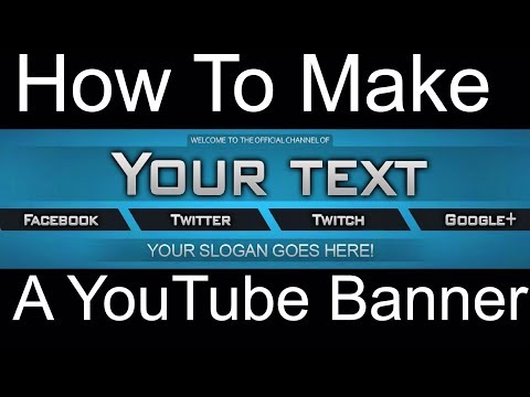 2018 How to make a Banner using iPhone/iPad *IMPROVED*