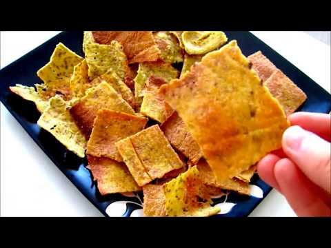 Cauliflower Chips / Crackers