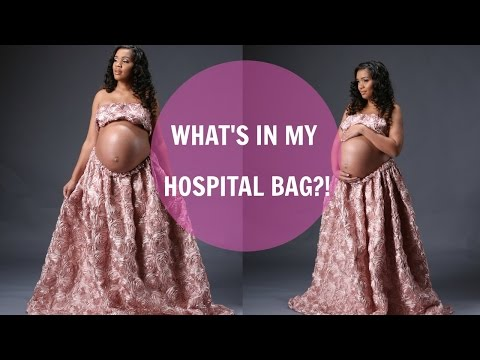 WHAT'S IN MY HOSPITAL BAG?! | LABOR AND DELIVERY 👶🏽