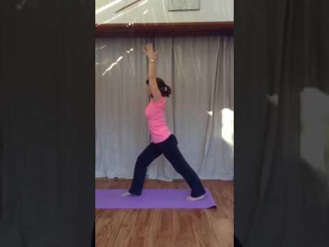 Yoga sun salutation for knee replacement