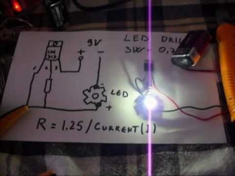 How to  Make Led Driver for Laser or Led Diode