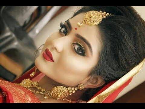Airbrush Makeup || Indian Wedding Makeup and Hair Tutorial