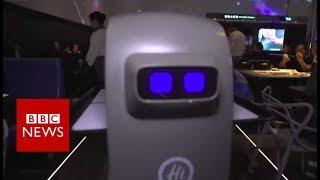 Robots staff China